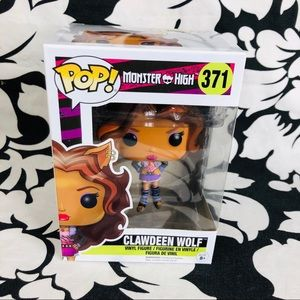 5 for $25| Funko Pop Monster High Clawdeen Wolf